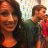 I just interviewed Joseph Morgan (Klaus) on The Vampire Diaries press line at Comic-Con 2011