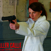 Behind the scenes of 'Killer Callie' where I play a Russian Hitwoman