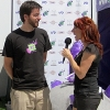 Kristen interviewing Bryan Jury, CCO of Epicenter Studios