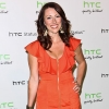 Actress Kristen Nedopak arrives at HTC Status Social launch event