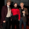 Josh, Amy (in an awesome Trek costume!) and the event producer Steve