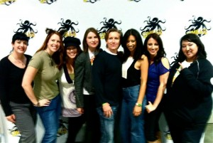 'Geek Girls' panelists with special guest Bonnie Burton (Star Wars)
